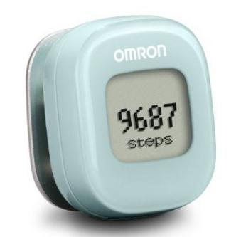 Omron HJ-327T Alvita Wireless Activity Tracker, Light Green