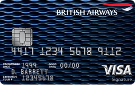 Earn a Total of 100,000 Avios After Spending $20,000 in the First Year British Airways Visa Signature® Card