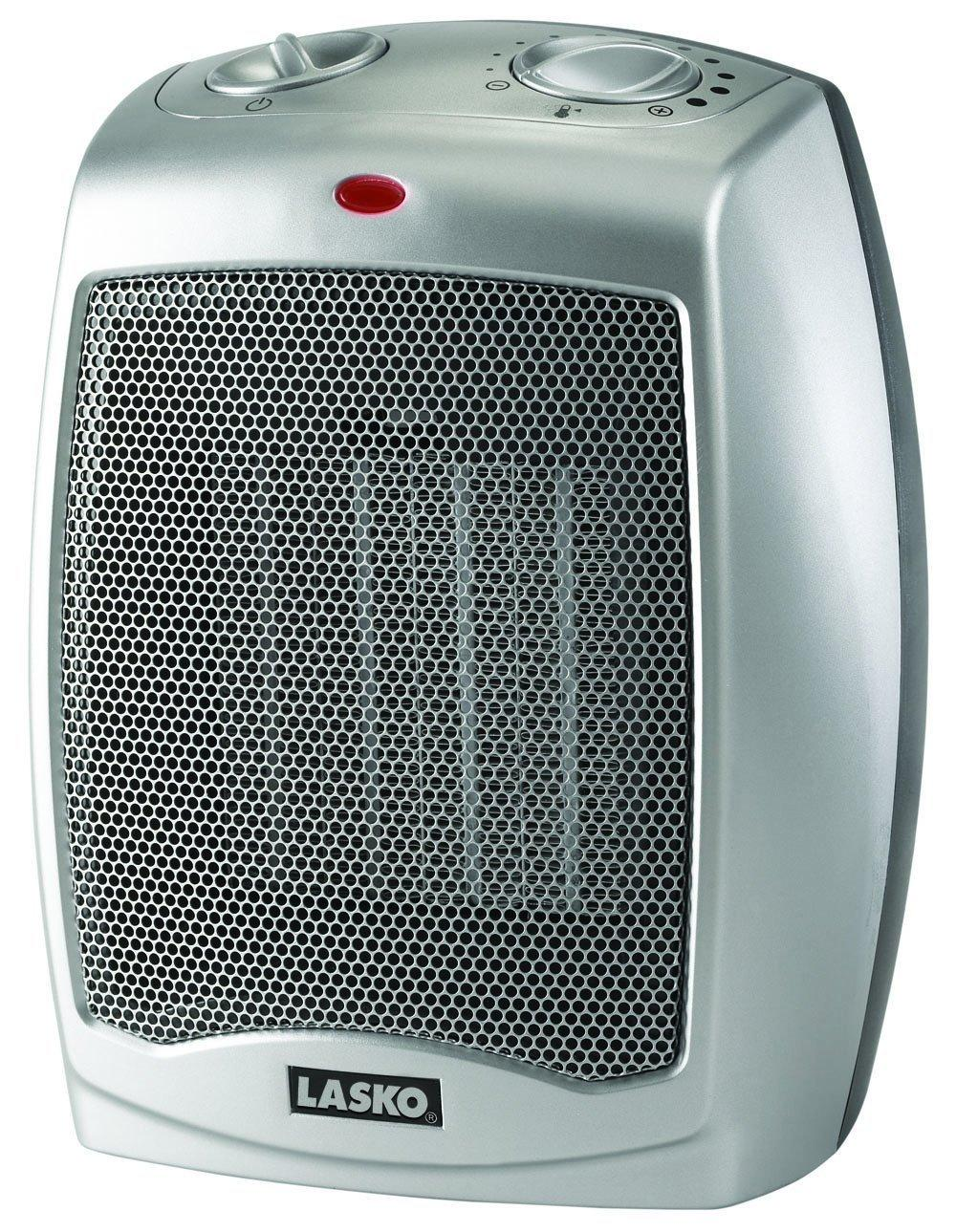 $23.99 Lasko 754200 Ceramic Heater with Adjustable Thermostat