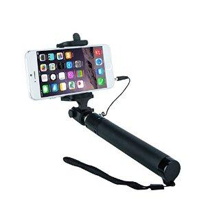 Minisuit Selfie Stick Lite 2015 Edition [Battery Free] Portable Pocket-Size Extendable Self-Portrait Monopod Stick with Adjustable Holder, Built-in Remote Shutter for iOS, Android Phones