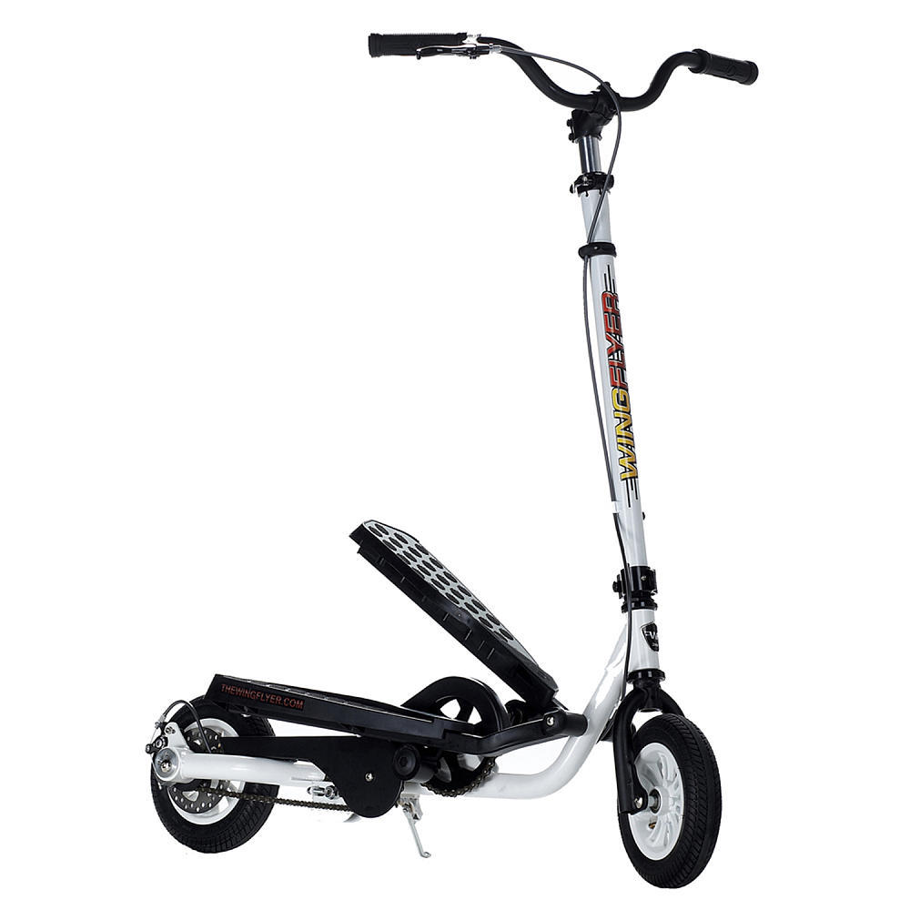 Zike Z150 Stepper Scooter - White, Ages 8 & up, 160 lb Limit @ ToysRUs