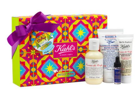 $28($37 value) Kiehl's Since 1851  Limited Edition Nourishing Essentials Set by Peter Max