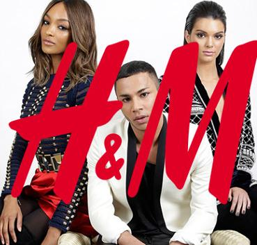 Launch on Novmber 5 H&M X Balmain Collection @ H&M