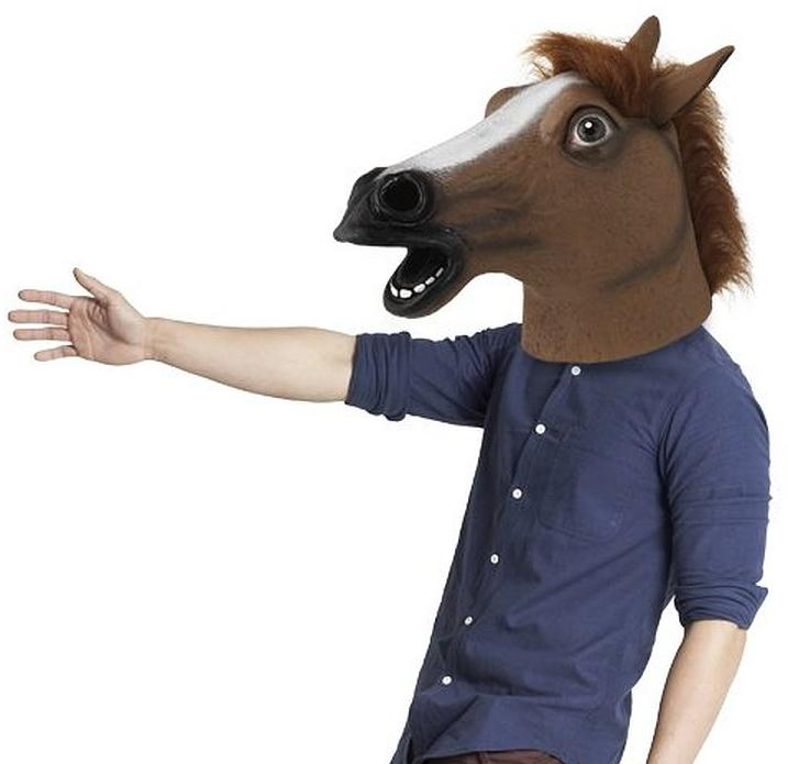 HorsingAround® Best Selling Horse Head Mask Great Halloween Mask
