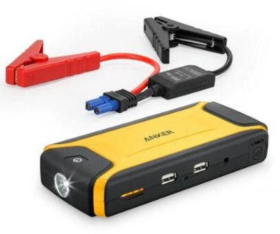 $56.99 Anker Compact Car Jump Starter & Portable Charger