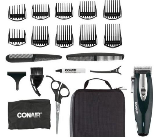 Deal of the Day Conair 20-Piece Lithium Ion Haircut Kit