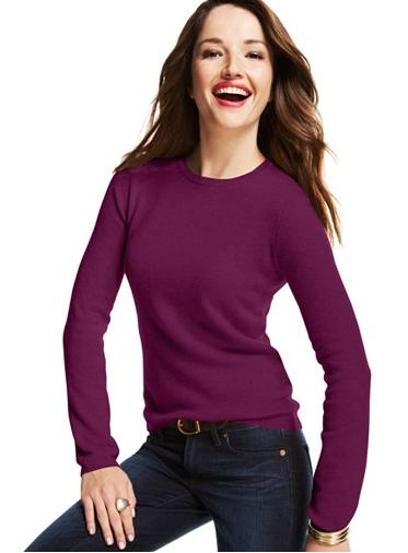 Charter Club Cashmere Crew-Neck Sweater In 21 Colors