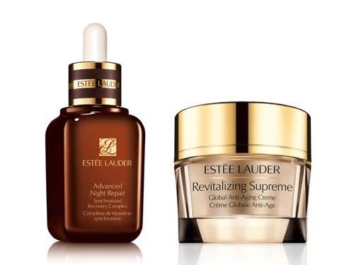 $50 ($87 Value) Estee Lauder Advanced Night Repair & Revitalizing Supreme Creme Set