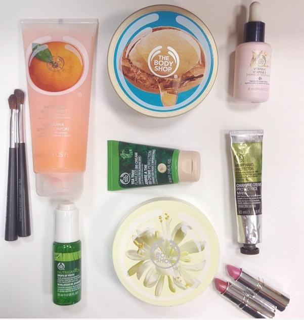 BUY 3 GET 3 FREE OR BUY 2 GET 1 FREE @ The Body Shop