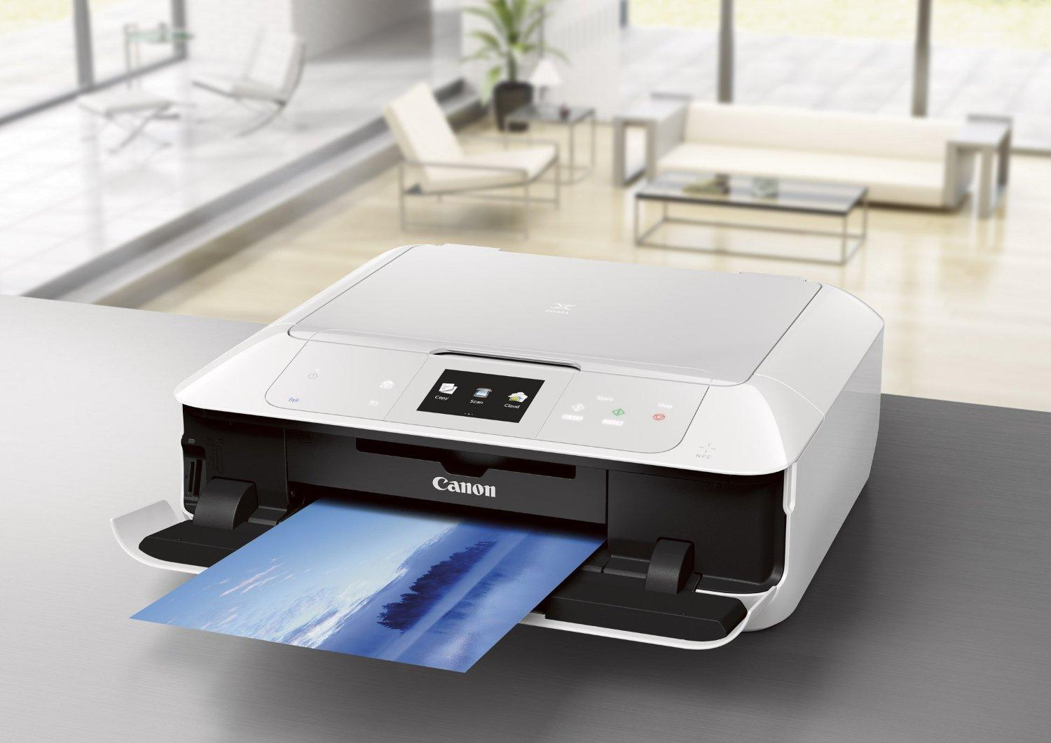 $89.99 Canon PIXMA MG7520 Wireless Color All-in-One Inkjet Printer