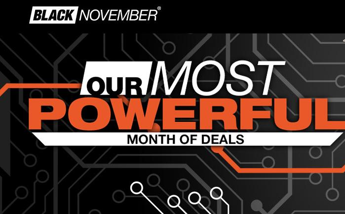 Check it now! Black November Sale @ Newegg
