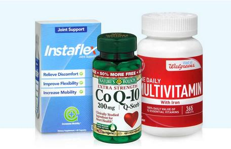 Up to 50% Off + EXTRA 10% Off Vitamins  & Supplements @ Walgreens