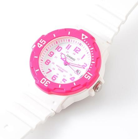 Casio Sports 3-Hand Analog White Dial Women's Watch