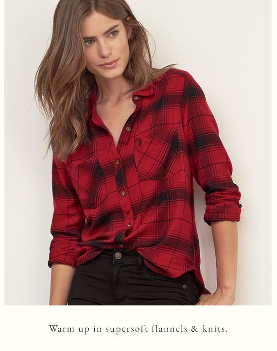 Up to 50% Off Sweaters & Shirts @ Abercrombie & Fitch