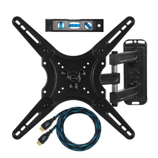 Cheetah Mounts ALAMLB Articulating TV and Monitor Wall Mount for 23-49