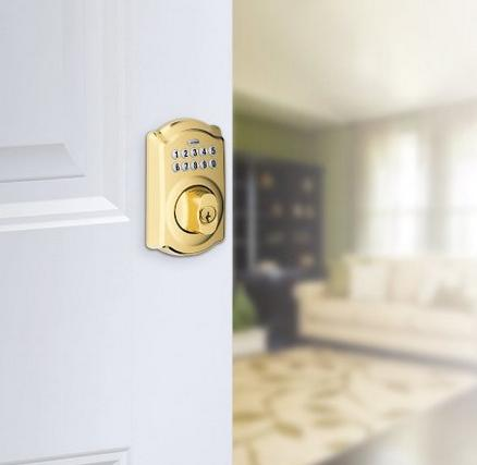 65% or more off Schlage Camelot Keypad Flex Lock @ Amazon.com