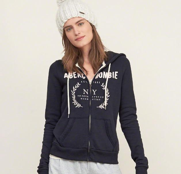 50% Off Select Hoodies & Sweatshirts @ Abercrombie & Fitch