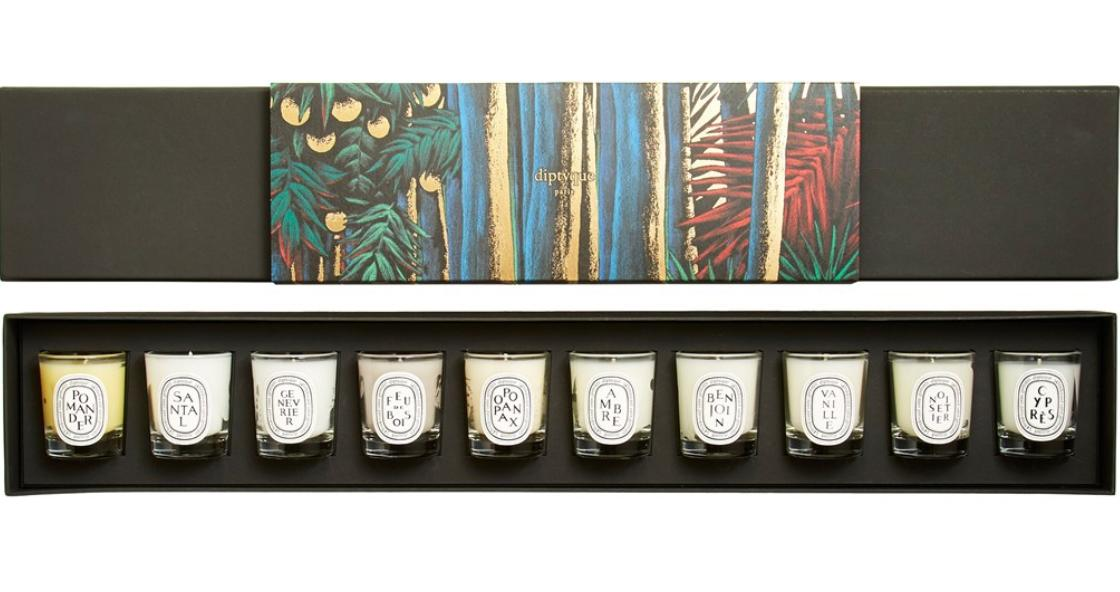 New Release Diptyque launched New Mini Candle Set