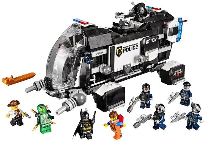 $55.99 LEGO Movie 70815 Super Secret Police Dropship Building Set