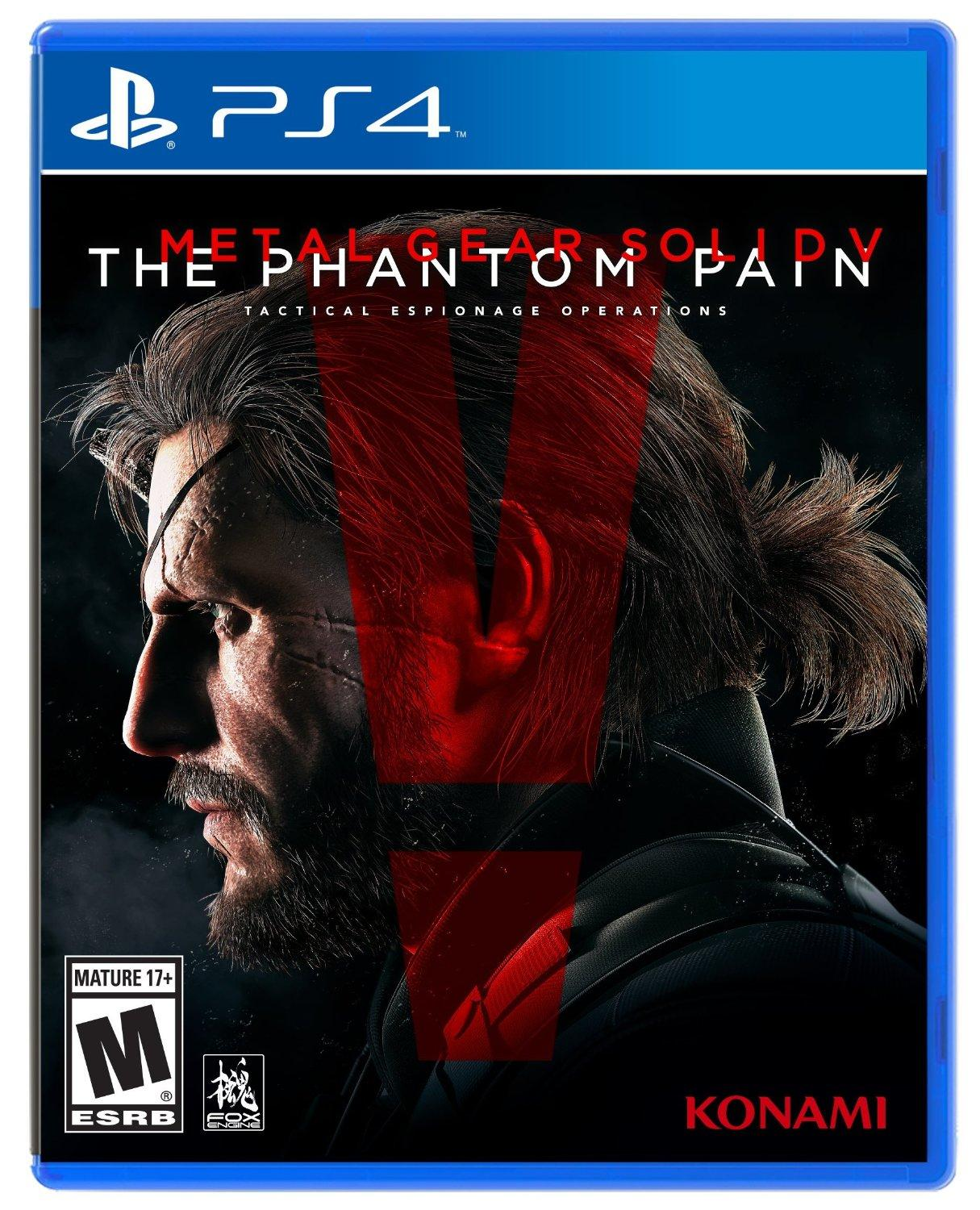 $19.49 Metal Gear Solid V 合金装备5 幻痛 PS4