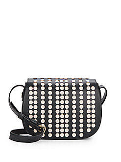 Tory Burch Lily Laser Cut Saffiano Leather Saddle Bag @ Saks Off 5th