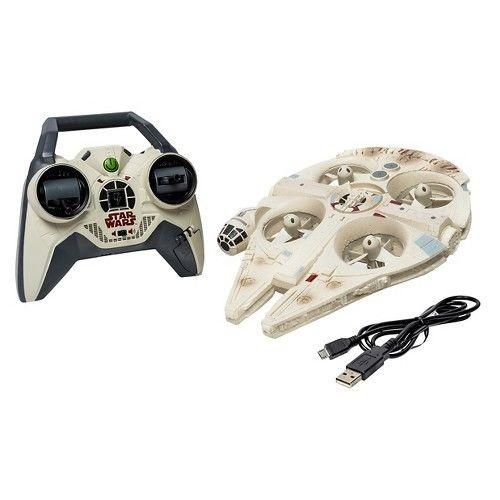 Air Hogs Star Wars Remote Control Ultimate Millennium Falcon Quad