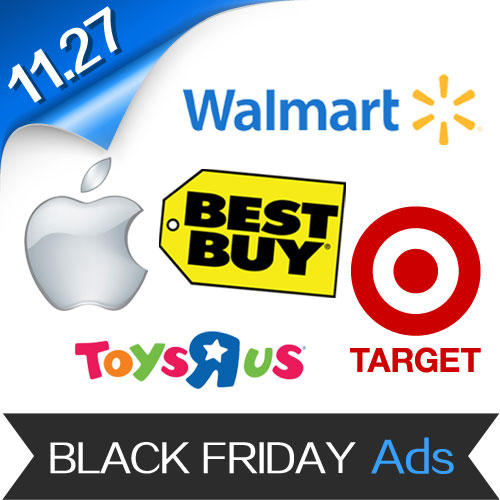 2015 Black Friday Popular Stores Ads and Flyers Roundup