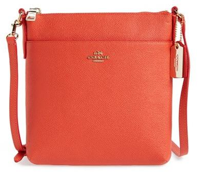COACH Leather Crossbody Bag @ Nordstrom.com