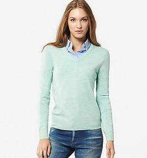 From $19.9 Extra Fine Merino wool and cotton Cashmere Sweaters on Sale @ Uniqlo