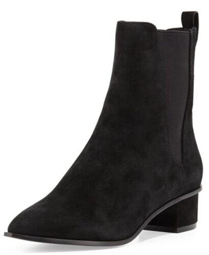 Ash  Mira Suede Pointed-Toe Bootie @ LastCall by Neiman Marcus