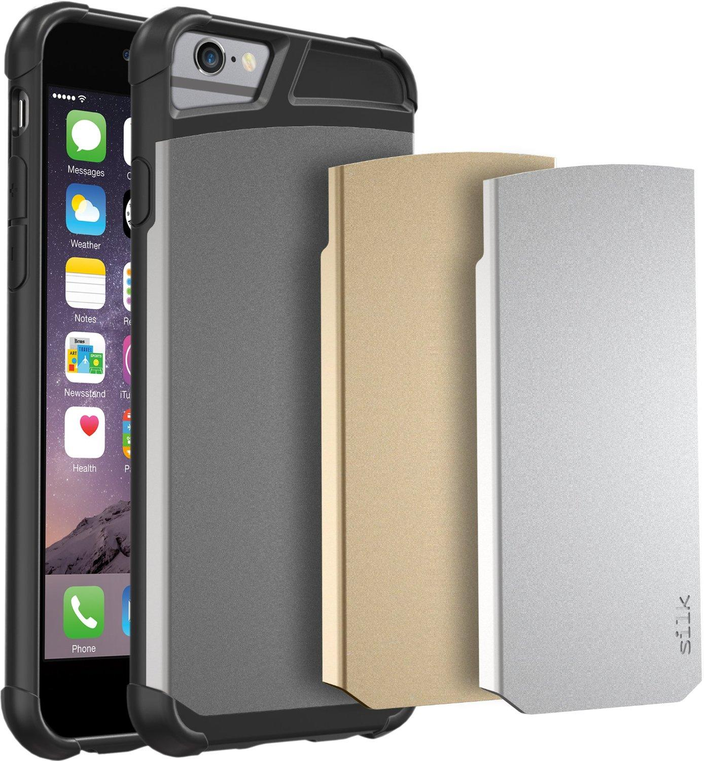 $1.68 Silk Armor Tough Case for iPhone 6/6s