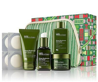 Origins Dr. Weil for Origins™ Mega-Mushroom Mega Relief Gift Set @ Bon-Ton