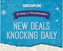 12 Days of Doorbusters @ Groupon