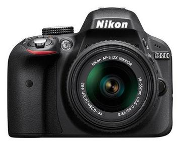 (Factory Refurbished) Nikon D3300 Digital SLR Camera with 18-55mm f/3.5-5.6G VR II Lens