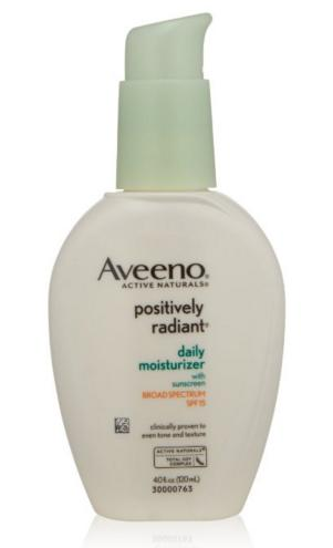 Aveeno Positively Radiant Skin Daily Moisturizer SPF 15, 4 Ounce
