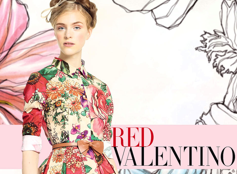 40% OFF RED Valentino Sale @ Saks Fifth Avenue