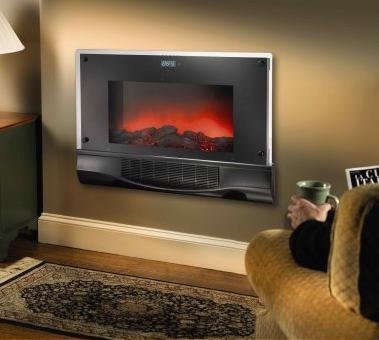 $119.99 Bionaire Electric Fireplace Heater with Remote Control