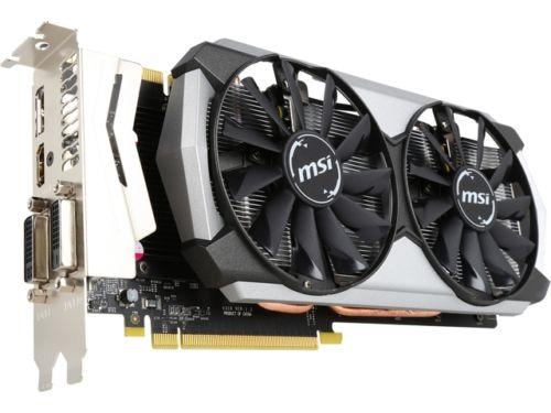 MSI GeForce GTX 970 4GD5T Titanium OC 4GB 256-Bit GDDR5 PCI Express 3.0
