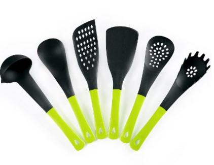 6-Piece Silicone Classic Tool and Gadget Set for cooking - Non-stick