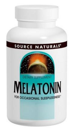 $3.74 Source Naturals Melatonin 1mg, 100 Tablets