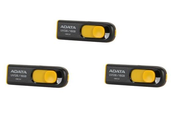 $11.99 (3x) ADATA DashDrive UV128 16GB USB 3.0 Flash Drive