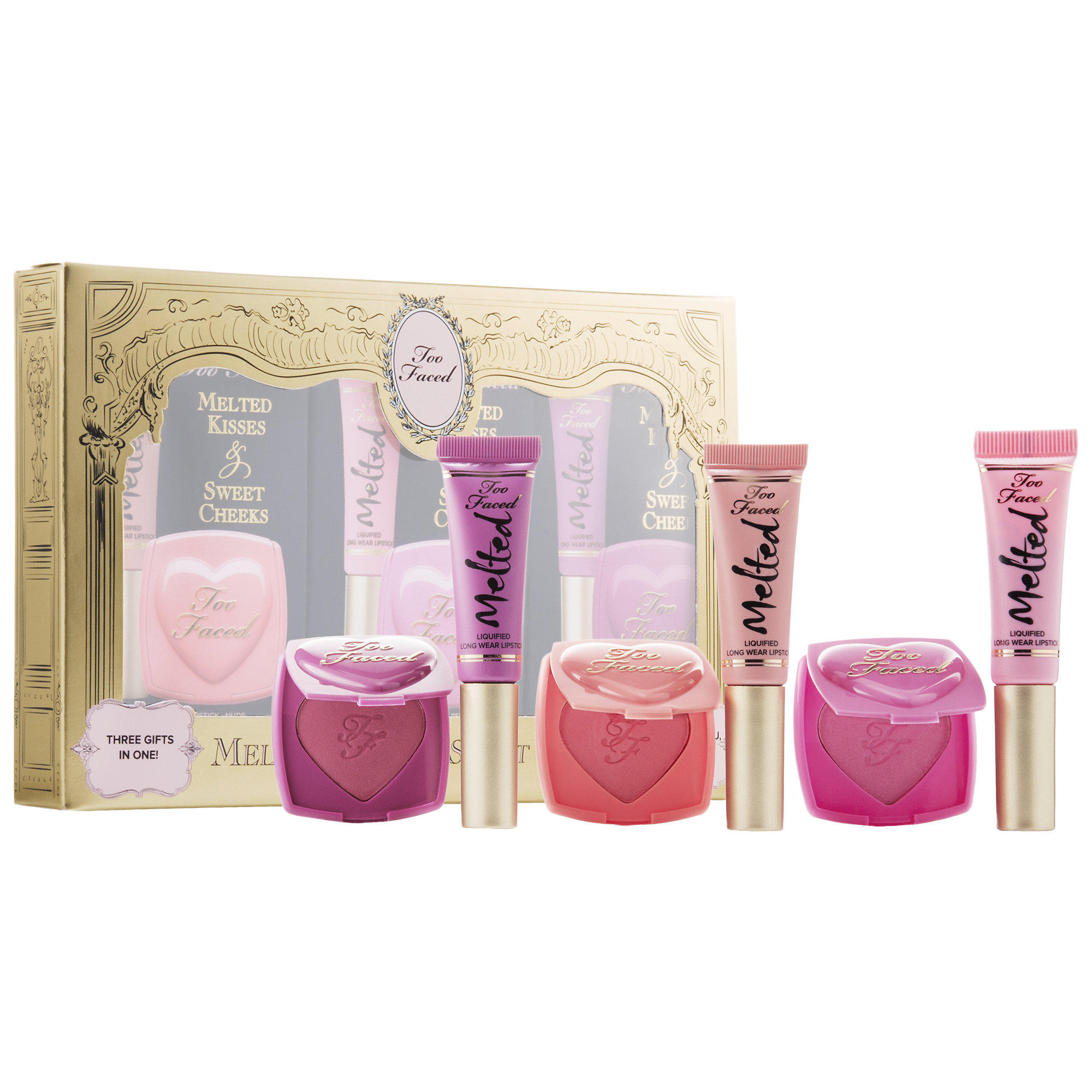 New Release Too Faced launched Melted Kisses & Sweet Cheeks