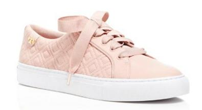 Tory Burch 'Marion' Quilted Lace Up Sneakers