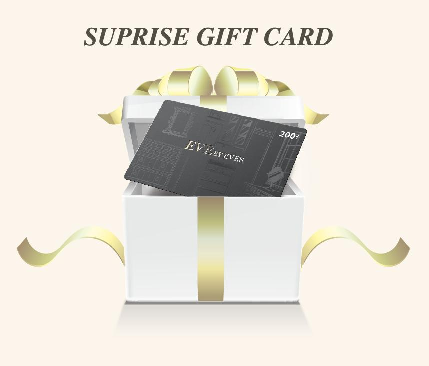 Dealmoon Singles Day Exclusive! At least 37% more value Gift Card Suprise Gift Card @ Eve By Eve's