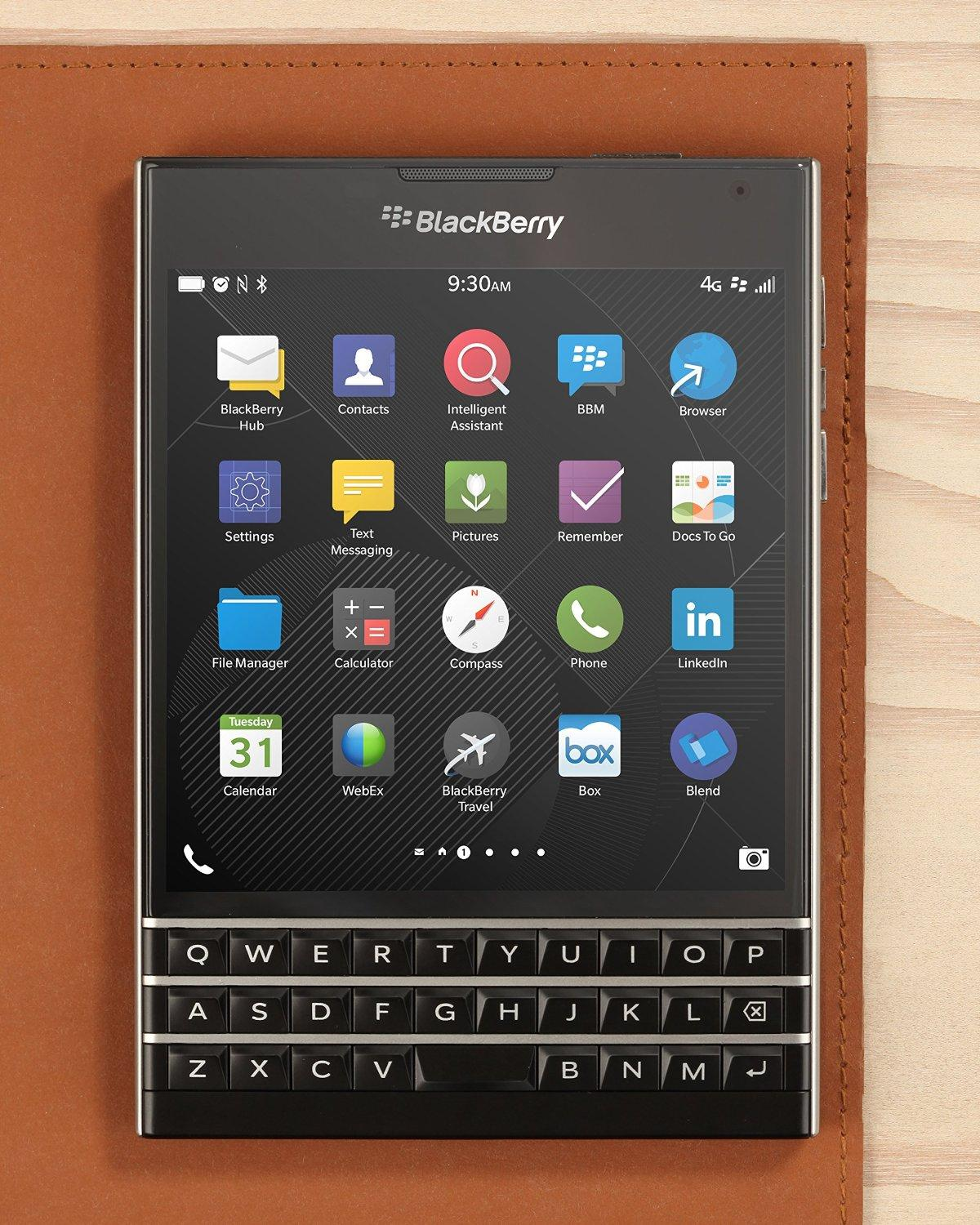 BlackBerry Passport - Factory Unlocked Smartphone(4G LTE)