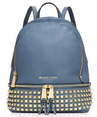 MICHAEL Michael Kors Small Rhea Zip Studded Backpack @ Nordstrom