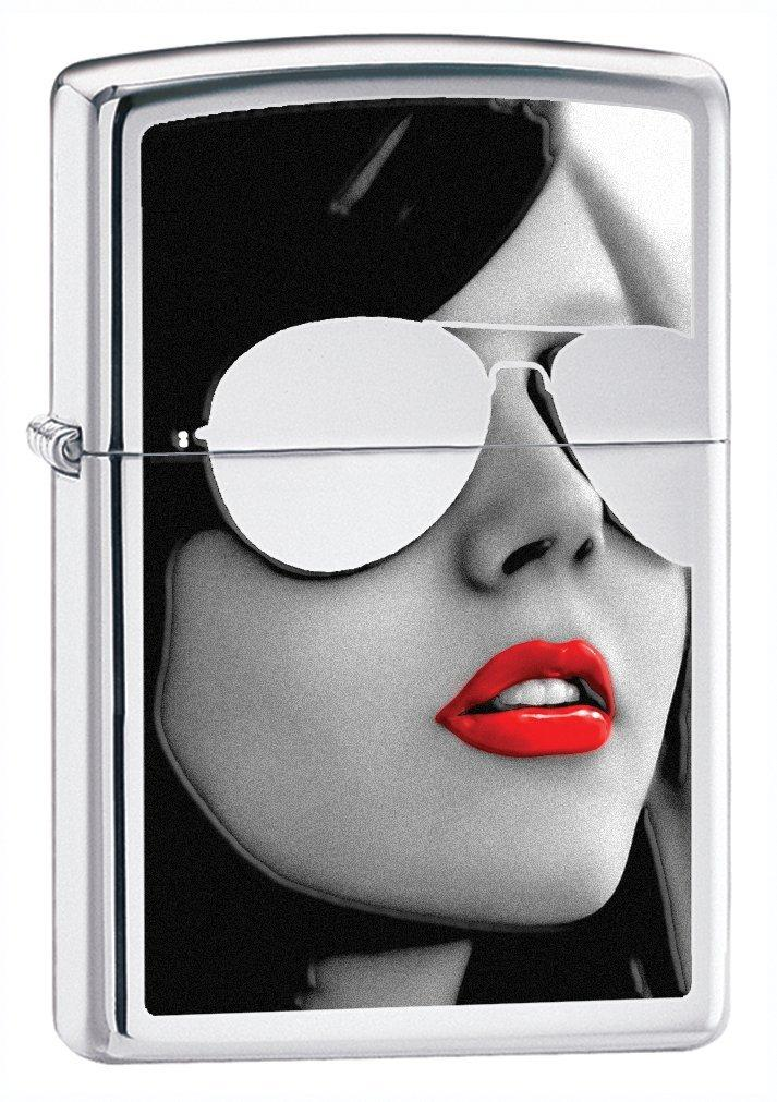 Zippo High Polish Chrome Sunglasses Lighter