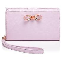 Ted Baker Philpia Molded Leather Smartphone Wristlet