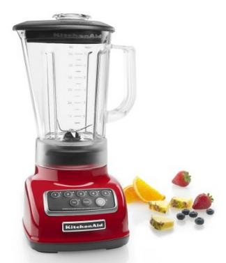 KitchenAid KSB1570ER 5-Speed Blender with 56-Ounce BPA-Free Pitcher