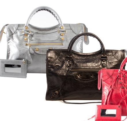 Balenciaga Leather Bags @ Groupon